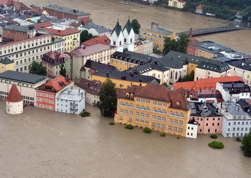 Jahrhunderthochwasser in Passau 2013