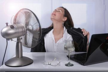 Hitzewallungen und Schweißausbrüche Ursachen