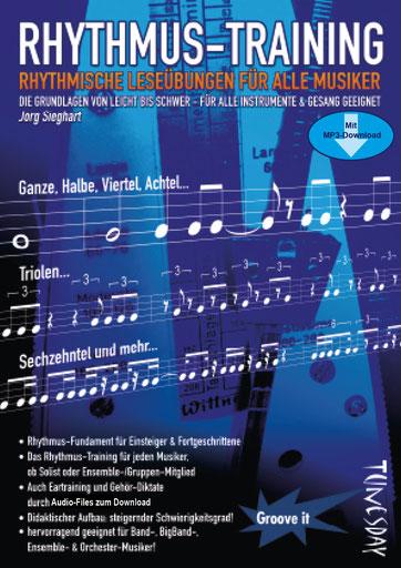 Rhythmus-Training - Lehrheft mit Download für alle Musiker - nur 9,95 EUR !