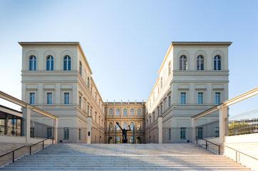 Museum Barberini, Rückansicht, Photo: Helge Mundt, © Museum Barberini