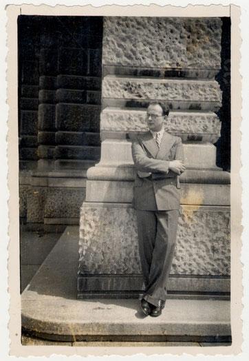 """Giacomo Nagler, detto """"Kubi"""" a Trieste"""