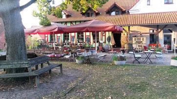 Unser Restaurant unter freiem Himmel