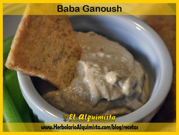 Baba Ganoush Herbolario Alquimista