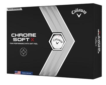 Callaway Chrome Soft X, Callaway Golfbälle, Golfbälle bedrucken, Logo Golfbälle, Golfbälle mit Logo, Bedruckte Golfbälle,