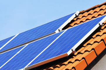 Solaranlage auf Norddach