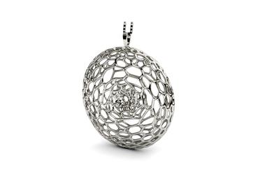 cell - Silberschmuck aus dem 3D-Drucker
