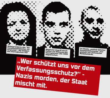 """""""Hvem beskytter os mod 'politiets efterretningstjeneste'? - Nazier myrder løs, staten delagtiggør sig heri."""""""
