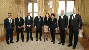 Der neue Bundesrat 2016. Bild: SRF