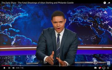 Trevor Noah in der Daily Show