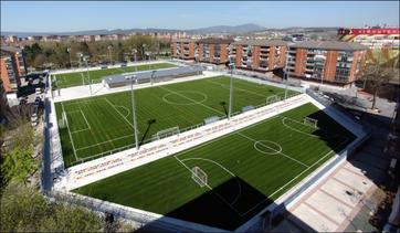 Terrenos de juego de La Vitoriana.
