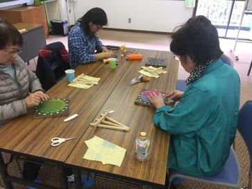 糸かけ曼荼羅の教室