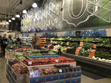 新鮮で安心な野菜とフルーツがいっぱいです