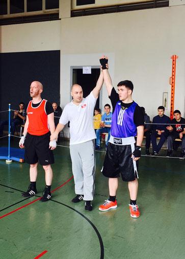 "ITTIGEN BOXEN I SA 28.03.2015 Sieger ""blau"" Manuel Pfister - Boxing Team Ittigen"