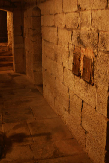 Im Keller von Haus Hubertus