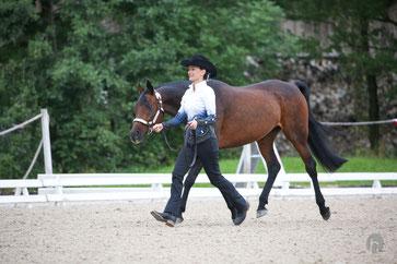 Sha Mara & Melanie Karrer (Foto: Horsefotograf - C. Jung)