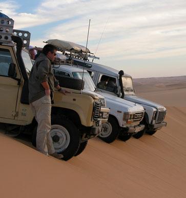 Con Azalai nell'Erg di Rebianah in Libia nel 2006