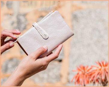 Billeteras de señora y accesorios