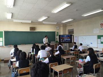 パソコン使って授業しました