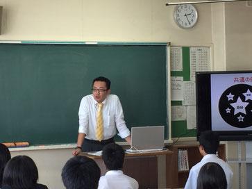 久しぶりのトーク系黒板授業