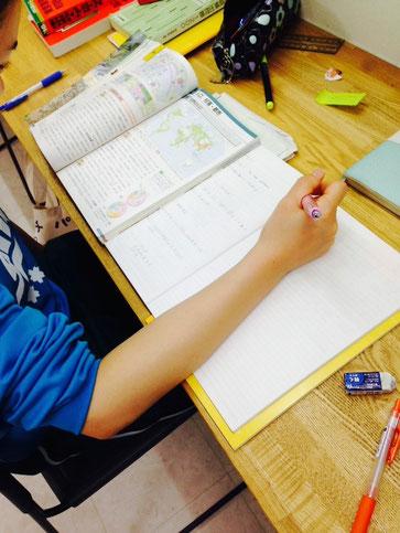 たまには学校の宿題に追われることもありますが、それも受験に向けては必要な事。そこはやるしかない!