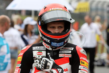 Stefan Bradl in der Moto2 2010 mit dem Kiefer Racing Team