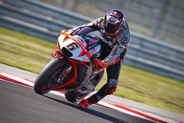 Stefan Bradl auf einer Aprilia in der MotoGP