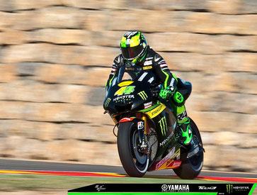 Pol Esgaragro bei seinem MotoGP Rennen in Aragon