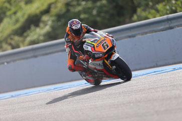 Stefan Bradl auf einer Forward Yamaha in der MotoGP