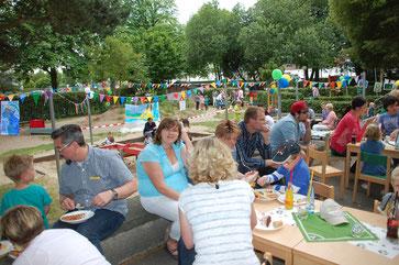 PHANTÀSIEN im FUSSBALLFIEBER: Sommerfest im Juli 2014
