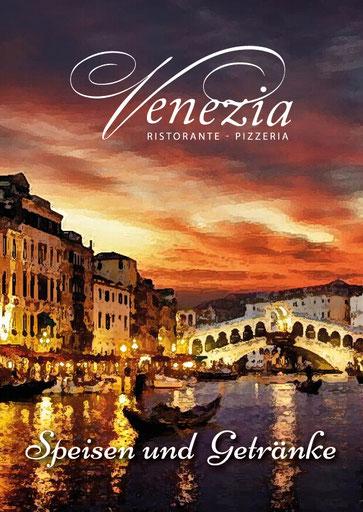 PDF Speisekarte von Venezia Ristorante Pizzeria