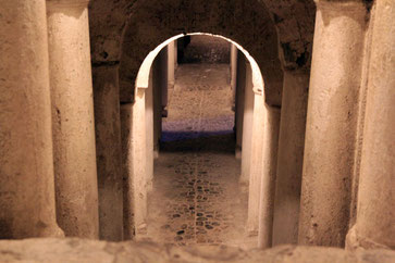 Part of the Tunnel System of the Alhambra