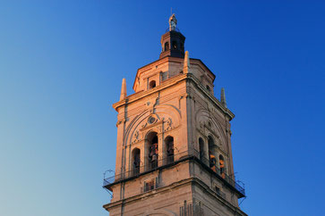 The tower of the Cathedral of Guadix