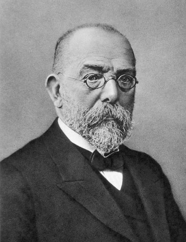 Robert Koch (Foto By Unknown author - http://ihm.nlm.nih.gov/images/B16692, Public Domain, https://commons.wikimedia.org/w/index.php?curid=5495788 )