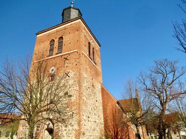 St. Marienkirche, Stadtkirche Wesenberg, Kirchen entdecken Mecklenburg