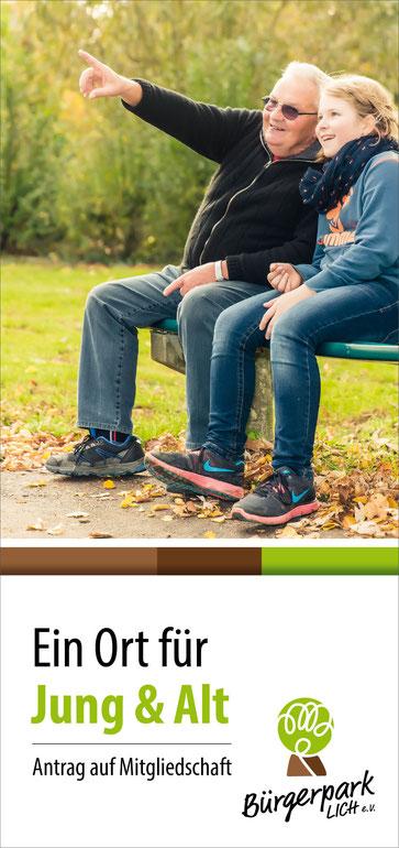 Bürgerpark Lich e.V. - Antrag auf Mitgliedschaft