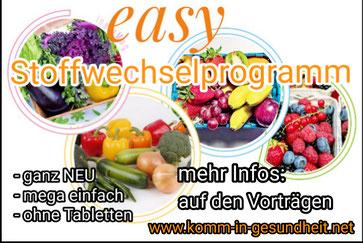 easy Stoffwechselprogramm, mit Leichtigkeit zum Wunschgewicht