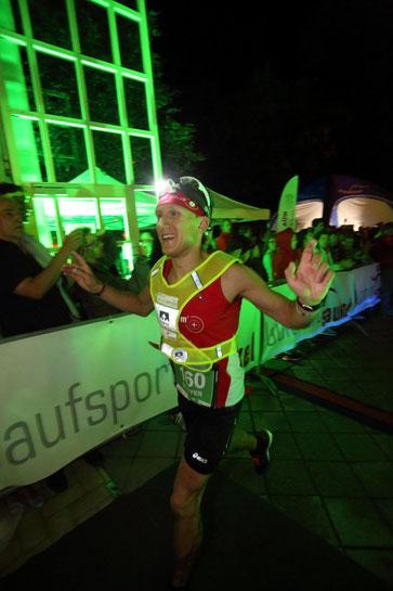 Premierensieg beim 1. AÜW Iller-Marathon (Bild: AÜW / Foto Sienz)