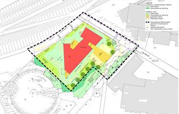 Wohnheim Lageplan