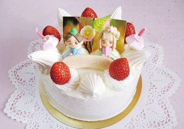 ひな祭りケーキ #お祝い #横浜 #南区 #フランス菓子 #フロランタン