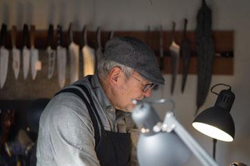 MSR verkauft und schaerft Messer und Scheren