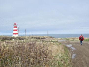 Wanderung zum Leuchtturm auf Brier Island