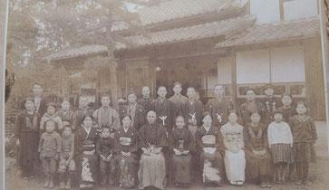 昭和初期の親族や従業員さん