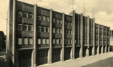 Die neue Feuerwache 1930