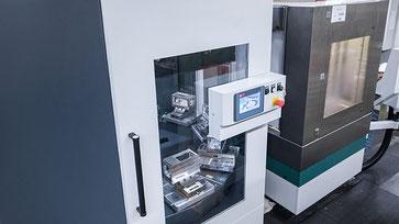 Fräsen mit Automation | KMS Metall GmbH