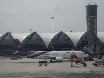 Thai Airways, Bangkok Airport, Asia for 2