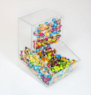 Boîte à friandises avec couvercle et fronton doublé 9411016, FMU GmbH, Accessoires de vente