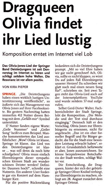 Deister Anzeiger, 20.07.2013