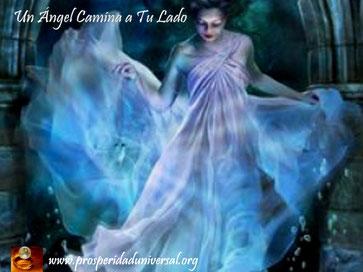 fluyen palabras de angel - un ángel camina a tu lado - prosperidad universal- www.prosperidaduniversal.org