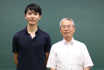 左から 平田先生、稲川先生