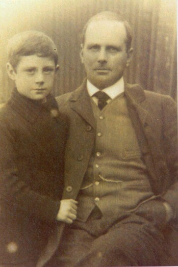 Mr. Henry Rose with his son Harry